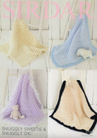Patterns for Pom Pom Blankets   Sirdar Snuggly Sweetie & DK 4700