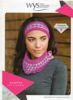 Harper Cowl and Headband Pattern | WYS Wensleydale Gems