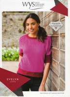 Evelyn Lace Jumper Pattern | WYS Wensleydale Gems