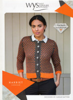 Harriet Cardigan Pattern  | WYS Wensleydale Gems