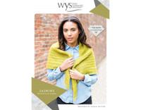 Jasmine Triangular Shawl Pattern  | WYS Wensleydale Gems
