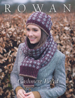 Rowan Cashmere Tweed Knitting Pattern Collection Book by Martin Storey - Book Cover