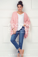 Rowan Cocoon Collection Book by Quail Studio, Knitting Pattern cardigan