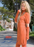 Womens Knitted Summer Dress Pattern (MARMOLADA) | Adriafil Avantgarde - Free Downloadable Knitting Pattern 47, Main Image