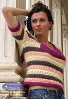 Anversa Jersey Pullover Knitting Pattern using Adriafil Carezza | Free Downloadable Pattern A21 - Main image