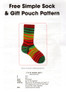 Free sock pattern with Opal sock yarn