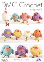 Family of Chicks Crochet Patterns | DMC Crochet Natura Cotton