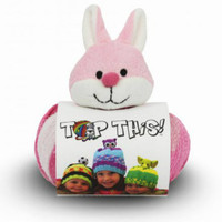 DMC Top This! Wool Hat Knitting Kit - Rabbit Hat Kit