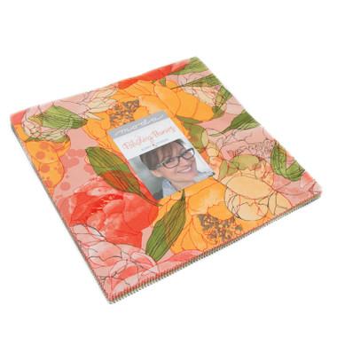 Blushing Peonies | Robin Pickens | Moda Fabrics | Layer Cake Fabric Pack - Main Image