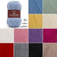 Sirdar Country Style DK Wool Rich Yarn, 50g balls | Various Shades  - Main