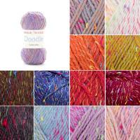 Sirdar Snuggly Doodle DK Baby Knitting Yarn, 50g Balls | Various Shades - Main