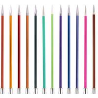 KnitPro   Zing Metal Knitting Needles   Single Point   25cm - Main Image