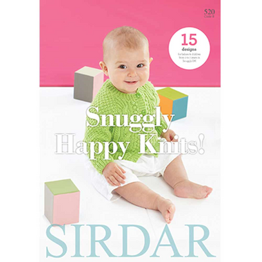 Sirdar Snuggly Happy Knits pattern Book - 15 designs from 0 - 7 years