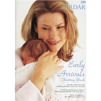 Sirdar Early Arrivals Knitting Patterns Book - For babies from 10 inches up to 12 months