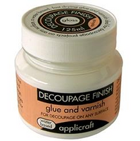 Decoupage Finish / Paper Varnish | 100g Pots | Various Finishes - Applicraft