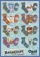 Opal 6 Ply Sock Knitting Wool / Yarn   Wanderlust Collection - Main Image