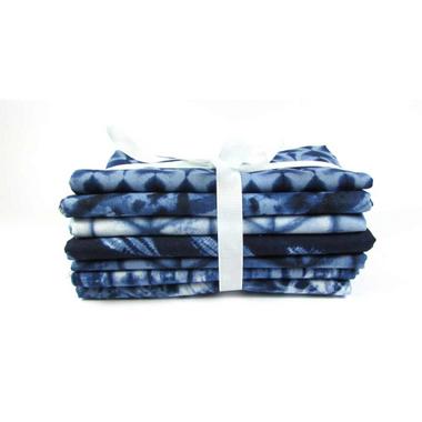 Fat Quarter Fabric Pack of 8 | Shibori 2 by Moda Fabrics | 100% Cotton Fabric - Main Image