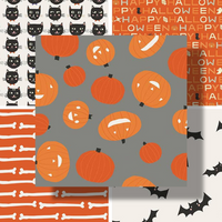 Cats, Bats and Jacks | Riley Blake | Individual Fabrics - Main Image