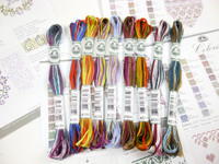 DMC Coloris Six Strand multi-coloured embroidery thread (517)