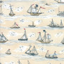Ahoy Me Hearties Fabric Pattern - 1432-14