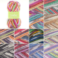 Sirdar Snuggly Baby Crofter Chunky Knitting Yarn | Various Shades  - Main