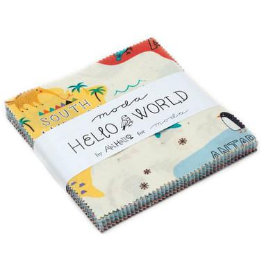 Hello World | Abi Hall | Moda Fabrics | Charm Pack - Main Image