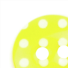 Spotty Buttons 15 mm | Yellow & White