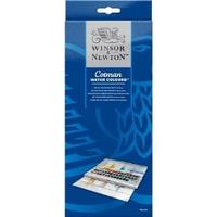 Winsor & Newton Cotman Water Colour Half Pan Studio Set, 45 Half Pans