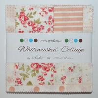 Whitewashed Cottage | 3 Sisters | Moda Fabrics | Charm Pack - Main Image