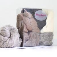 Hawthorn British Wool Roving Bundle No. 1 | Hawthorn Handmade