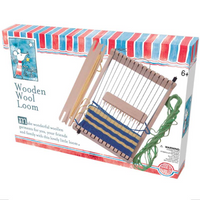 make & do Wooden Wool Loom | House of Marbles