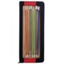 Knit Pro Zing Single Pointed Needles Set of Single Pointed Needles | 8 Sets, The Front