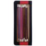 Knit Pro Zing Single Pointed Needles Set of Single Pointed Needles | 8 Sets, The Back