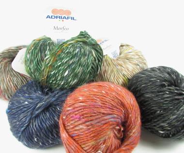 Adriafil Morfeo Aran / Chunky Knitting Yarn, 50g Balls | Various Shades - Main Image