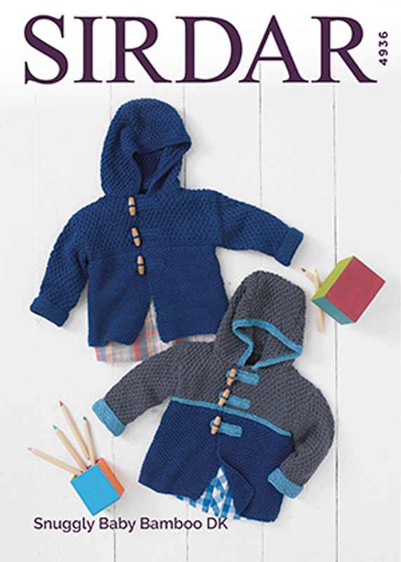 3148ac4bc aby Boys Duffle Coat Knitting Pattern