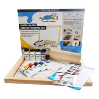 Daler Rowney System 3 Water Based Acrylic Screen Printing Art Set - Main Image