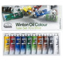 Winsor & Newton Winton Oil Colour Art Set   Set of 10 Oil Paints   37ml Tubes - Other image