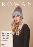 Stocking Stitch Beanie Hat Pattern | Rowan Cosy Merino Chunky