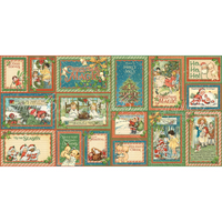Graphic 45 | Ephemera Cards | Christmas Magic Collection