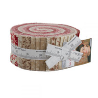 La Vie en Rouge | French General | Moda Fabric | Jelly Roll - Main Image