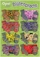 Opal Blutenpracht / Blossom 4 Ply Sock Knitting Yarn   Various Shades  - Main Image