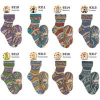 Opal Illusion 4 Ply Sock Knitting Yarn, 100g Balls | Various Shades - Main Image