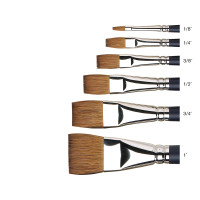 Winsor & Newton Artists Watercolour Sable Brushes, One Stroke| Various Sizes - Main Image