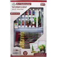 Royal & Langnickel Art Instructor Acrylic Wildlife & Nature Study 31 Piece