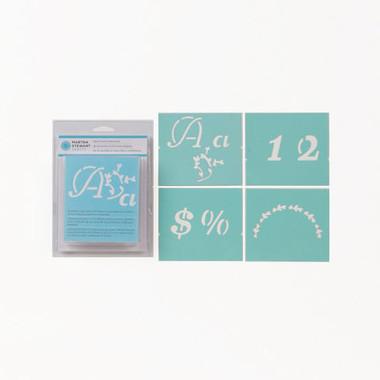 Martha Stewart Crafts | Alphabet Stencil Sets | Various -