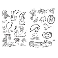 Marianne Design | Clear Stamps | Hettys Autumn | Various Designs