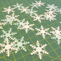 Stix 2 | Diecut Card Shapes | Snowflake Shapes 2 | 15 Pieces - Main Image