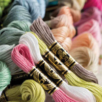 DMC Stranded Cotton for Cross Stitch | Colours 600-699 - Main Image