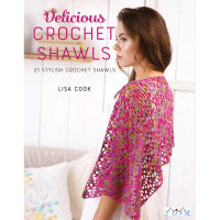 Delicious Crochet Shawls by Lisa Cook