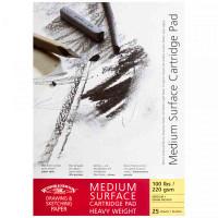 Winsor & Newton Medium Surface Heavyweight Cartridge Paper (Gummed) | Various Sizes - Main Image